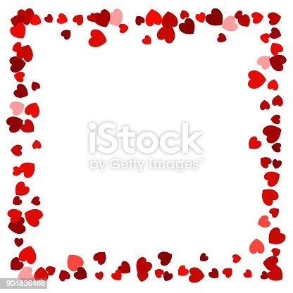 coeur rep r vide cadre rouge pour une utilisation comme un l ment de design cliparts. Black Bedroom Furniture Sets. Home Design Ideas