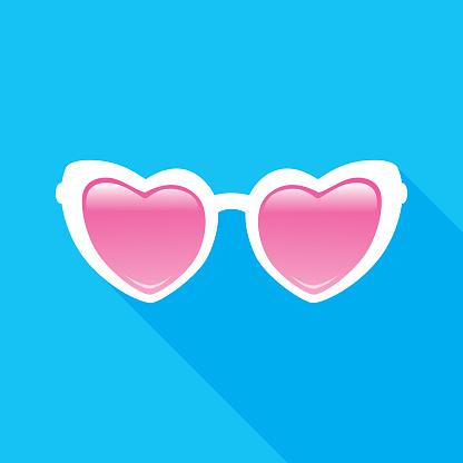 Heart Sunglasses Icon