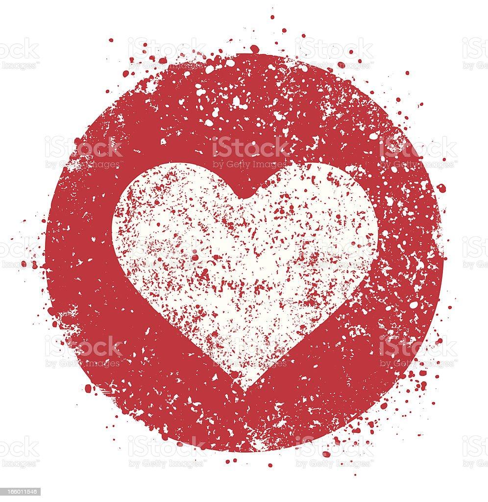 Heart symbol inside red circle stock vector art more images of heart symbol inside red circle royalty free heart symbol inside red circle stock vector art buycottarizona