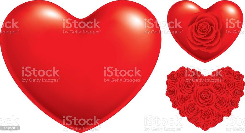 Herz-Symbol – Vektorgrafik
