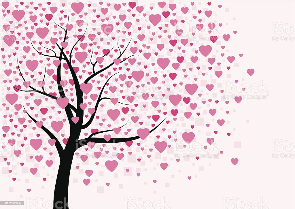 Heart tree design royalty-free heart tree design stock vector art & more images of abstract