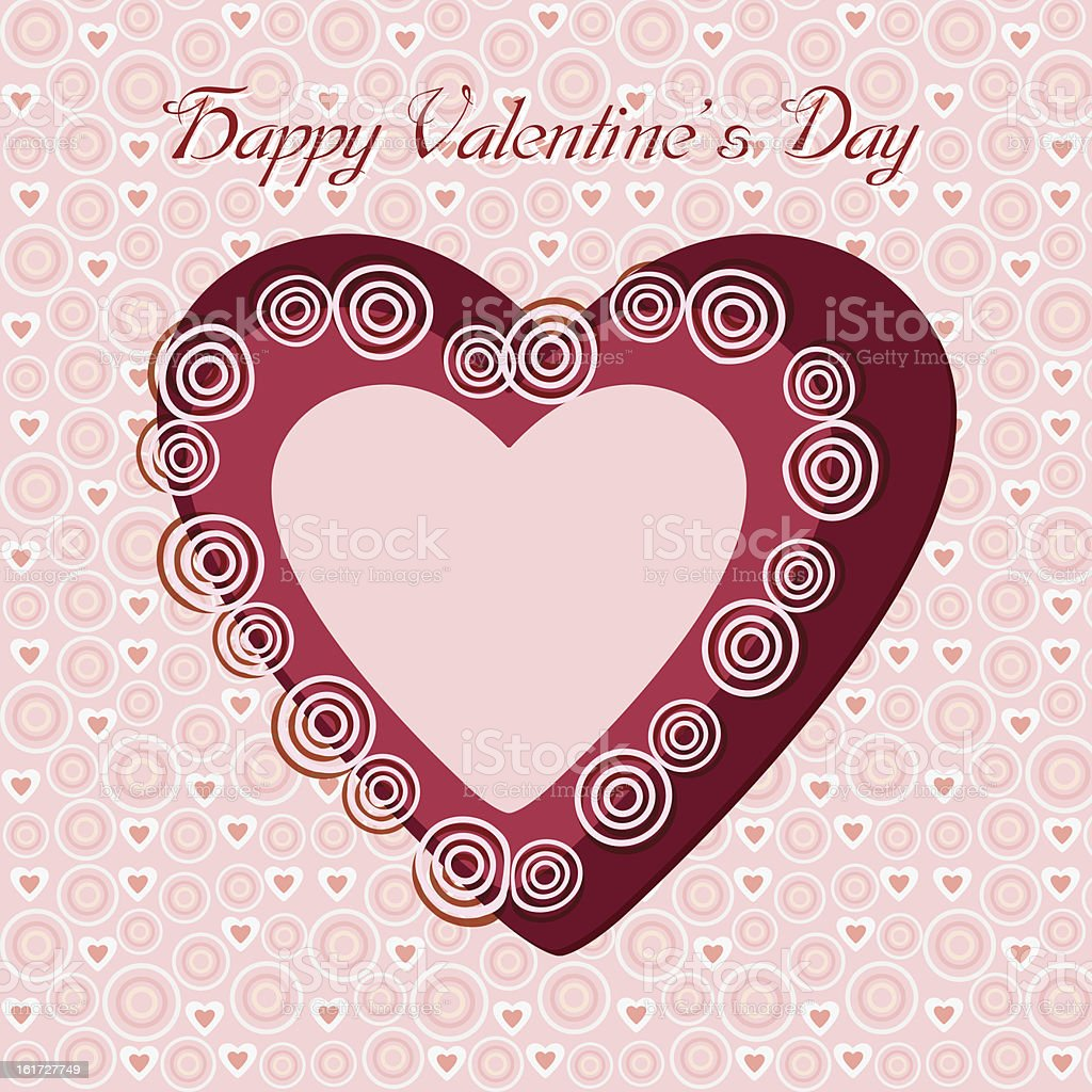 Heart Valentine's day royalty-free heart valentines day stock vector art & more images of backgrounds