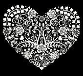Vector heart .