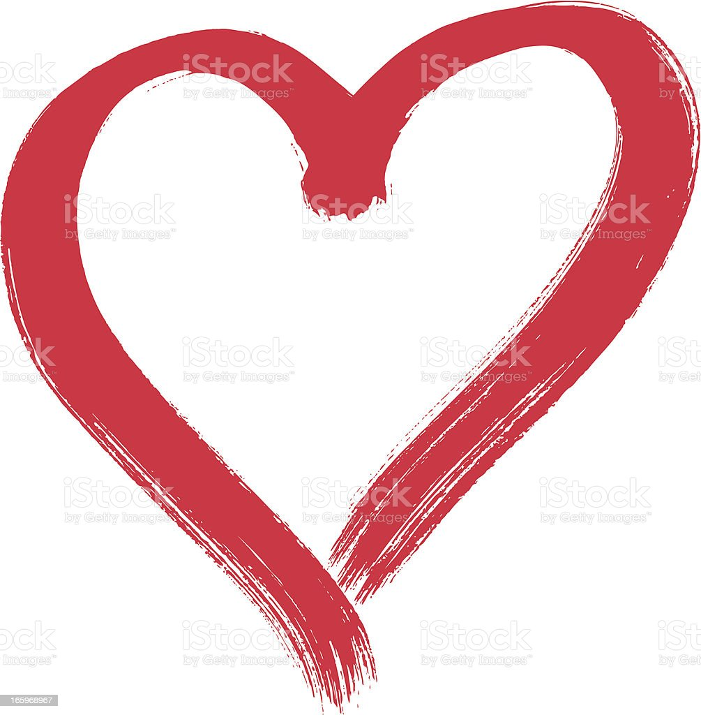 Heart royalty-free heart stock illustration - download image now
