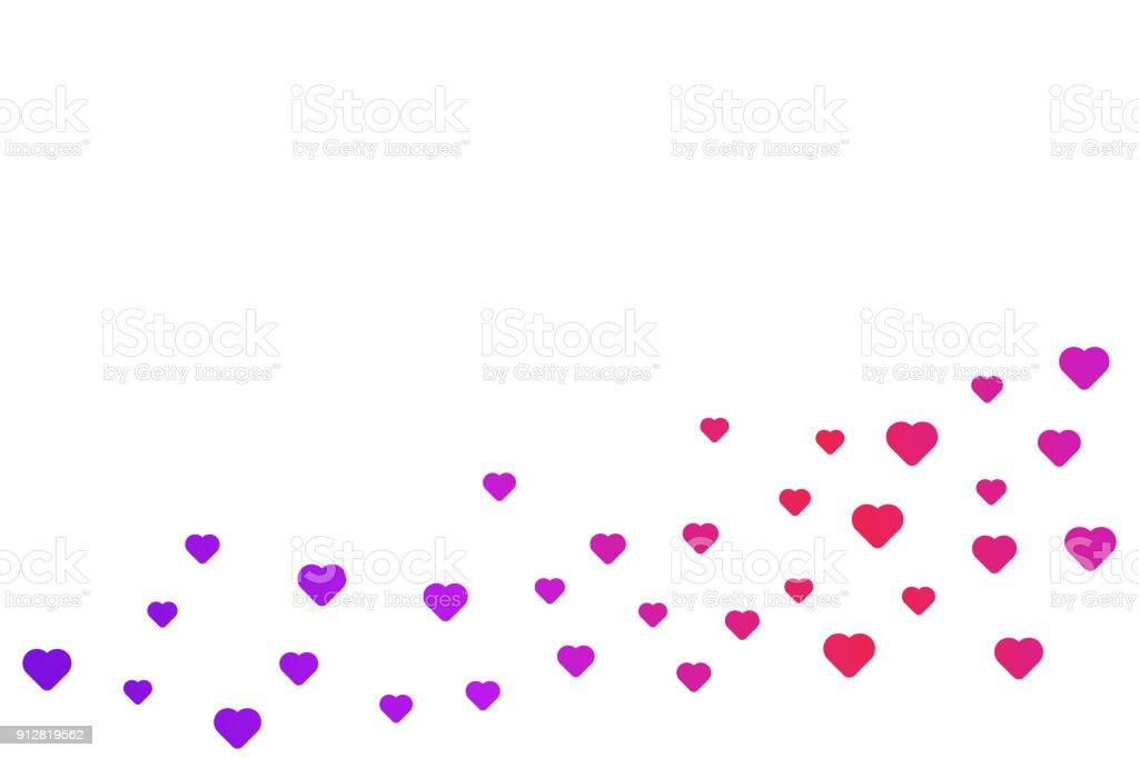 Herz Vektor Modernen Abstrakten Hintergrund Herzmuster In ...