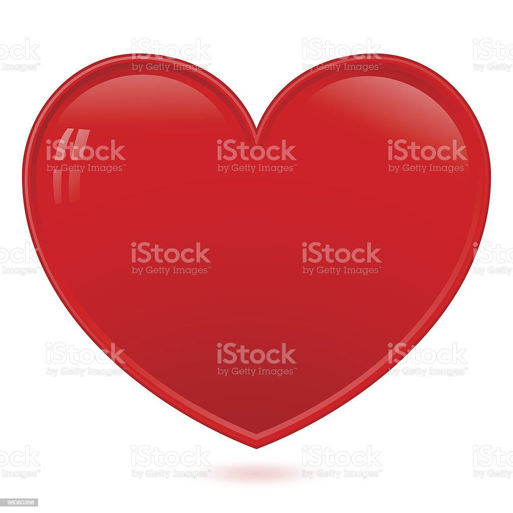 Heart -- vector royalty-free heart vector stock vector art & more images of admiration