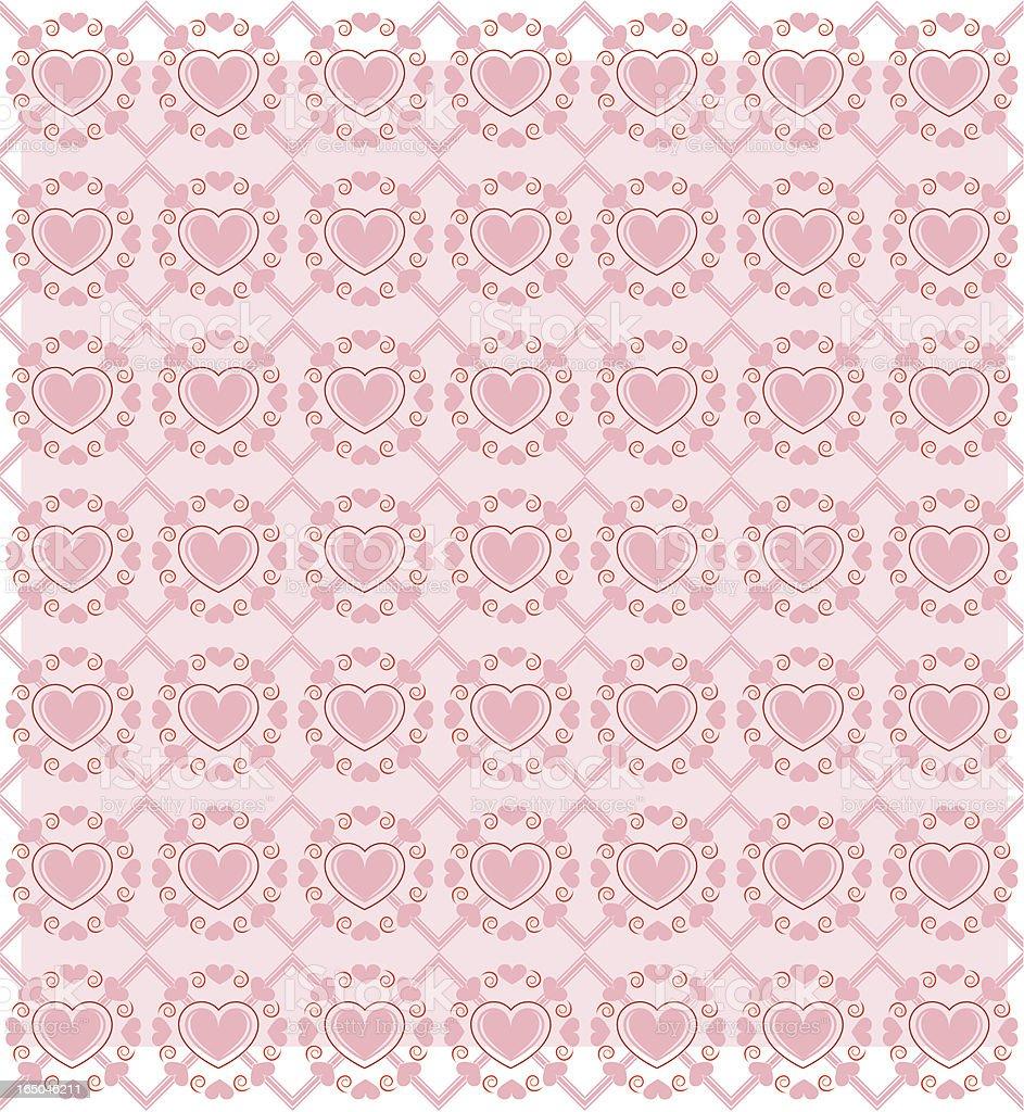 heart wallpaer II royalty-free stock vector art