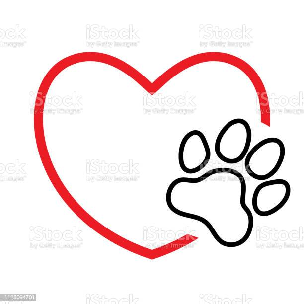 Heart with paw print vector id1128094701?b=1&k=6&m=1128094701&s=612x612&h=u8kgj ifju2o9tbpcxr8v znghloodjupg8q6wamxku=