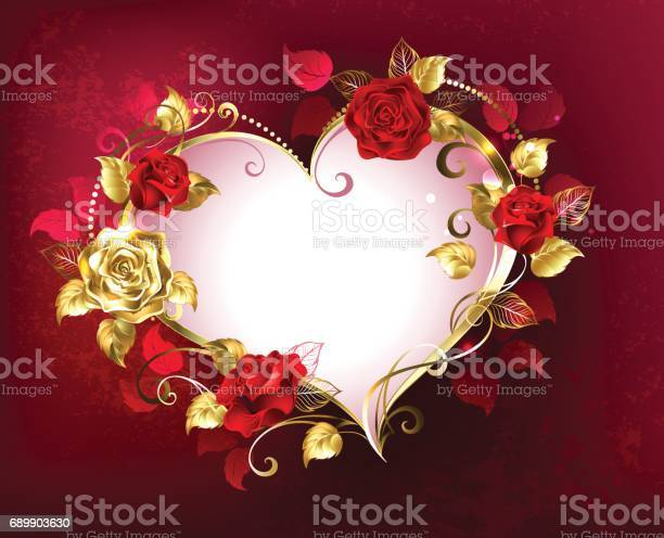 Heart with roses vector id689903630?b=1&k=6&m=689903630&s=612x612&h=kcl4drlvxjckv0zph9bx1uamk6zxtk1ienpj9xg4z2e=