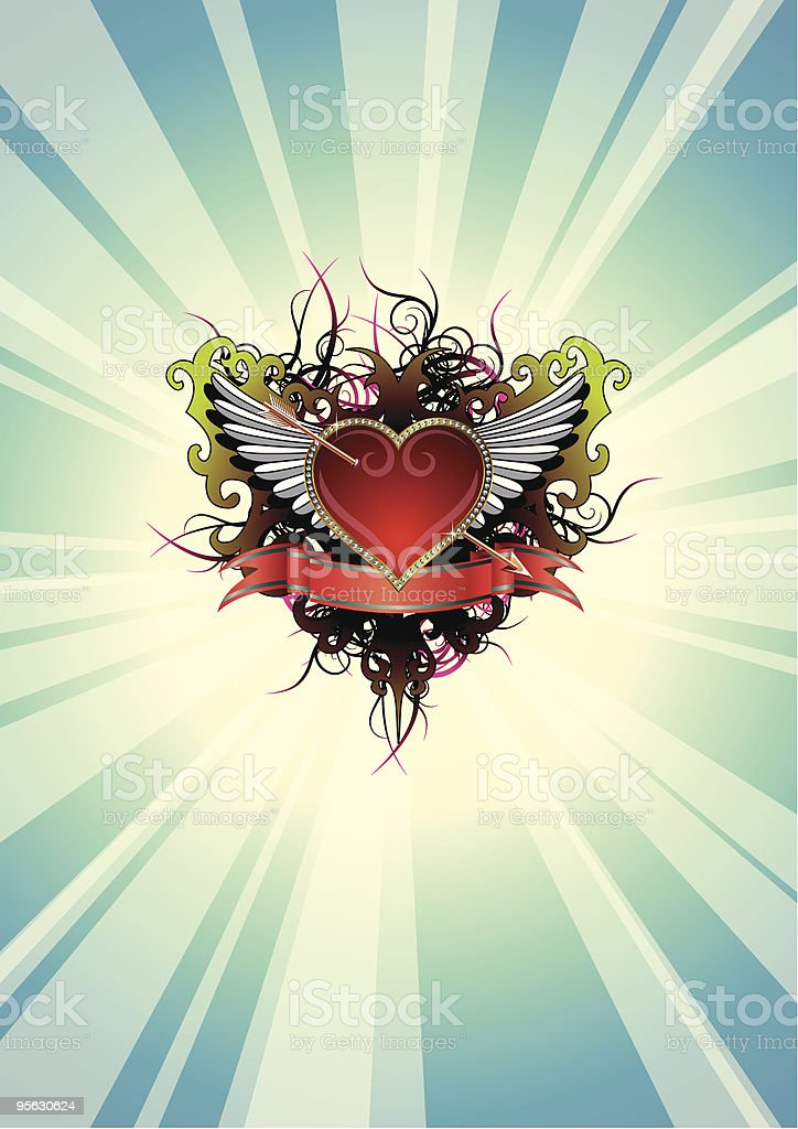 Heart_11 royalty-free heart11 stock vector art & more images of affectionate
