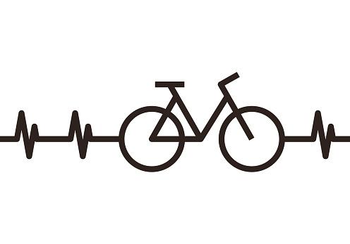 Heartbeat Bike Symbol