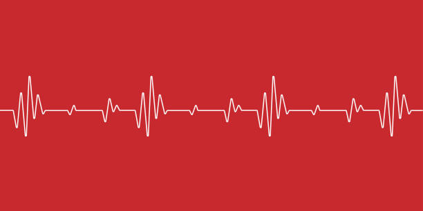 heartbeat health care and science icon medical innovation concept background vector design. heartbeat health care and science icon medical innovation concept background vector design. heart rate stock illustrations