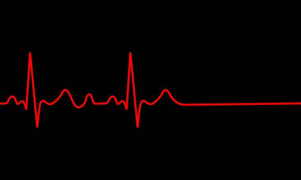 heartbeat icon. heartbeat icon. ECG Pathology Trace, Vector illustration pulse trace stock illustrations