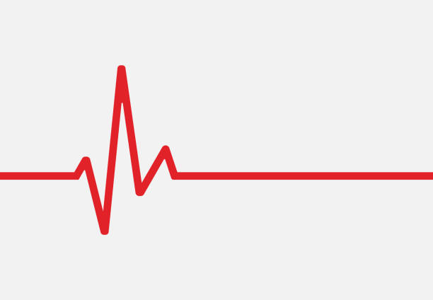 Heartbeat line icon isolated on white background. Vector illustration. Heartbeat line icon isolated on white background. Vector illustration. Eps 10. in a row stock illustrations