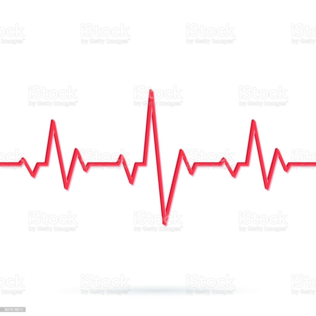 royalty free heartbeat clip art vector images illustrations istock rh istockphoto com heartbeat clipart vector heart rate clip art free