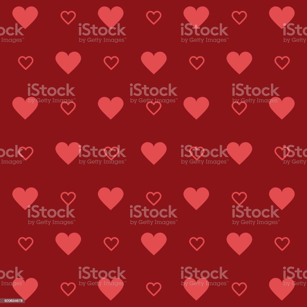 Decor Heart Shape Symbol Textile Wallpaper Decor Hearts Background Style