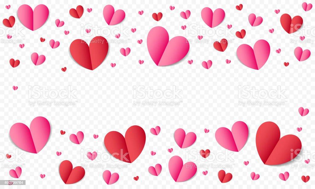 Herzmuster Für Valentinstag Oder Hochzeit Romantik Und Save The ...