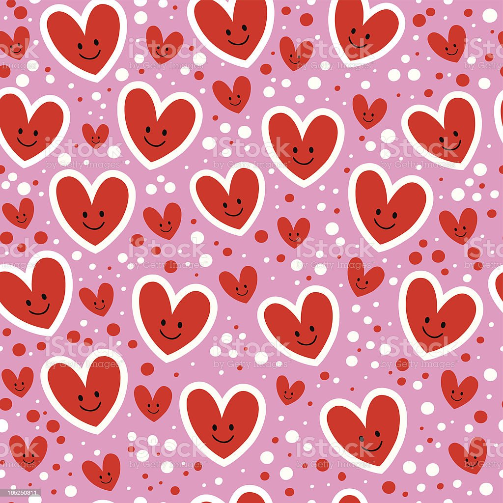 hearts pattern royalty-free stock vector art