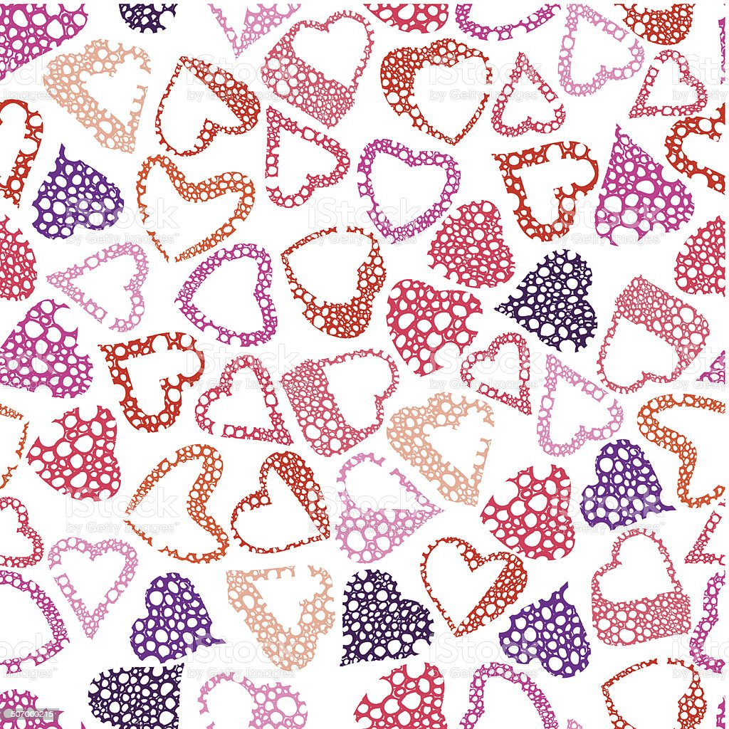 Hearts seamless pattern love valentine and wedding theme stock hearts seamless pattern love valentine and wedding theme royalty free hearts seamless pattern love junglespirit Gallery