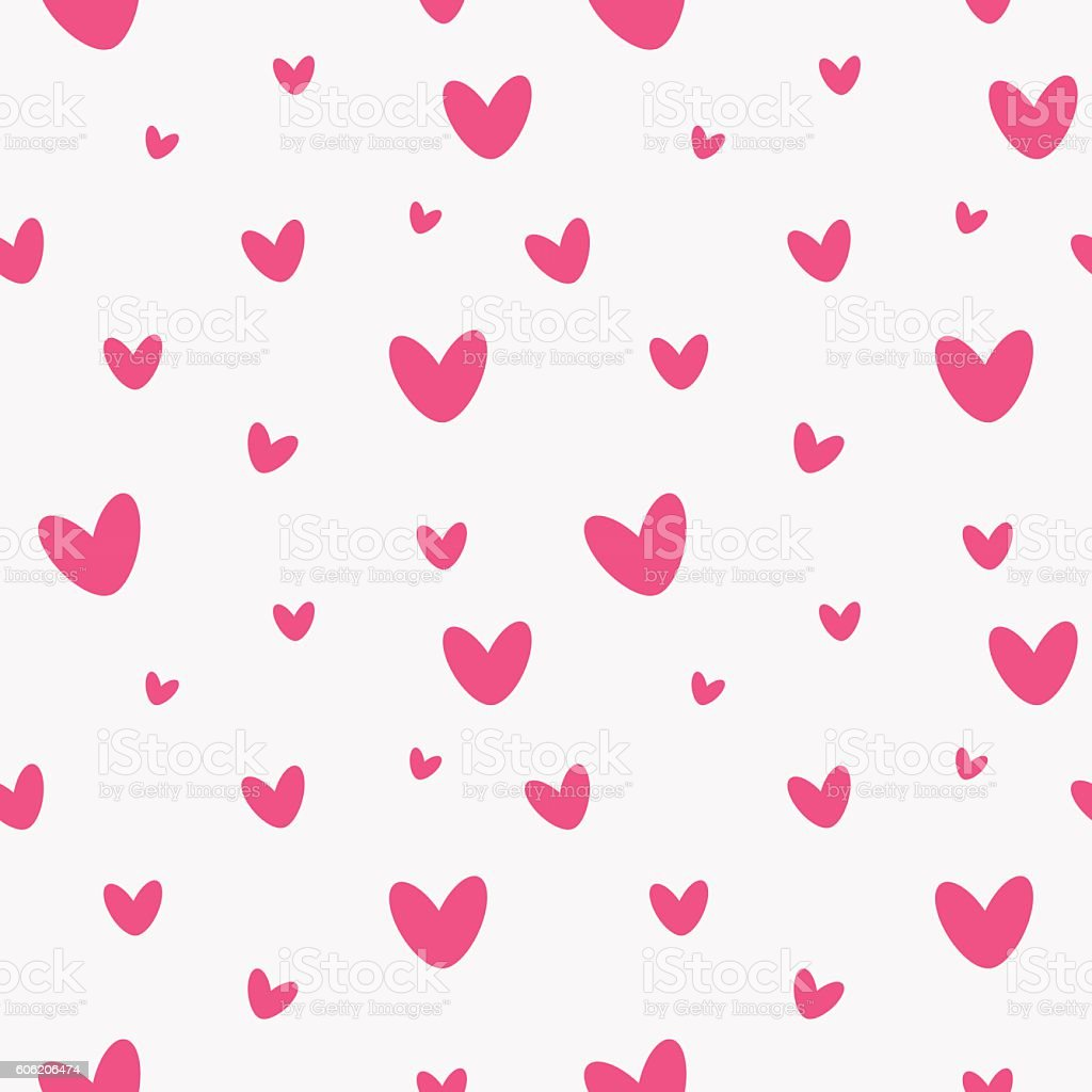 Hearts seamless pattern on a white background cute babies patte hearts seamless pattern on a white background cute babies patte hearts seamless pattern voltagebd Gallery