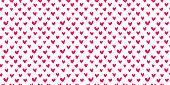 istock Hearts seamless pattern 1297328395