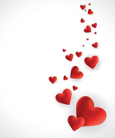 Hearts - Valentine's Day background