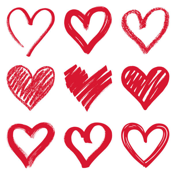 stockillustraties, clipart, cartoons en iconen met hart - heart