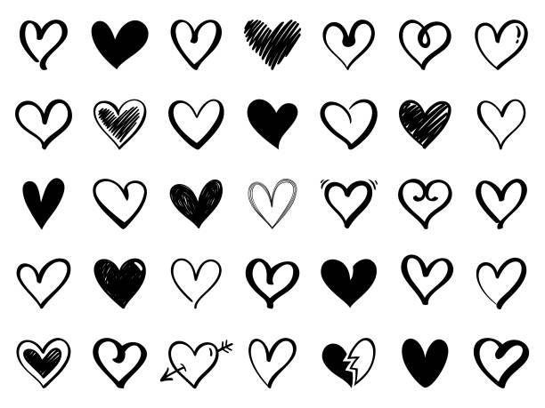 illustrations, cliparts, dessins animés et icônes de cœurs - coeur