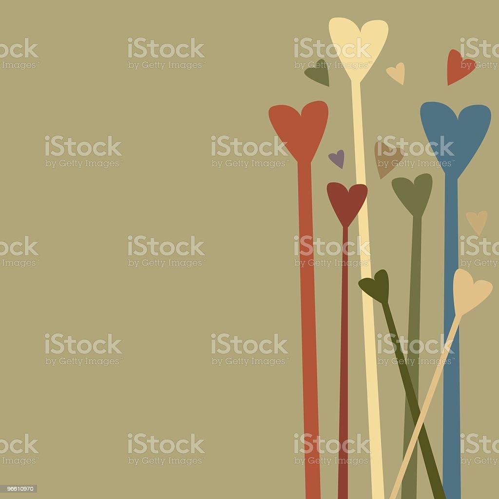 Hearts - Royaltyfri Abstrakt vektorgrafik