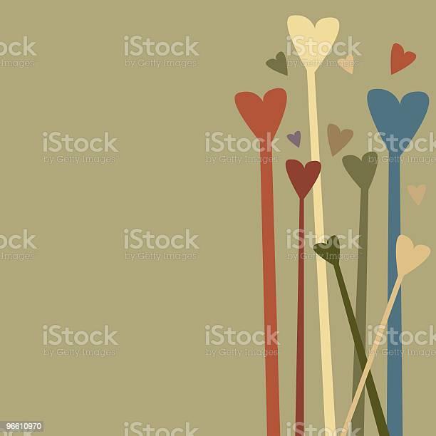 Hearts-vektorgrafik och fler bilder på Abstrakt