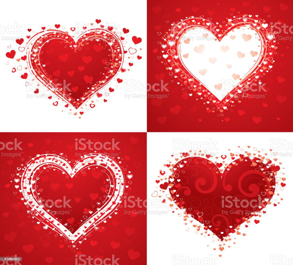 Hearts royalty-free hearts stock vector art & more images of color image