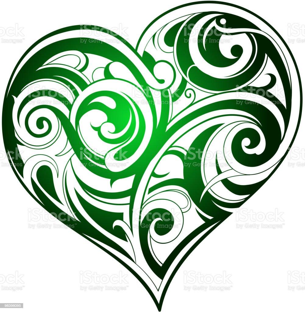 A forma di cuore a forma di cuore - immagini vettoriali stock e altre immagini di amore royalty-free