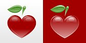 Heart-Shaped Apple