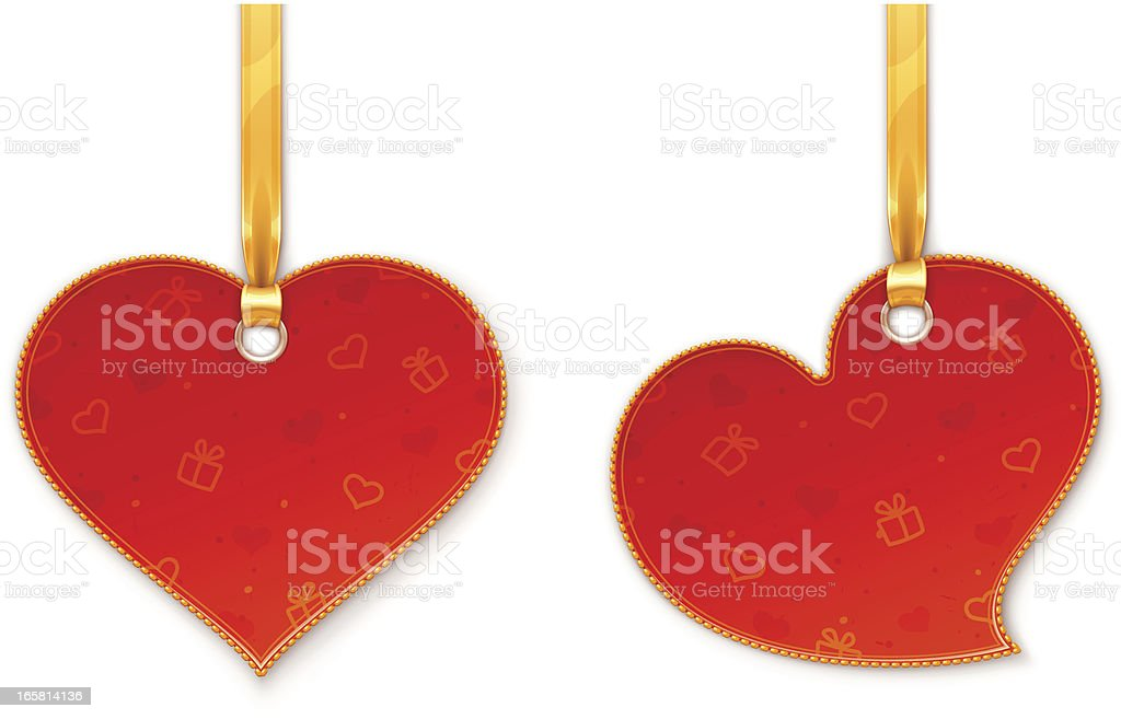 Heart-shaped labels royalty-free heartshaped labels stock vector art & more images of celebration event