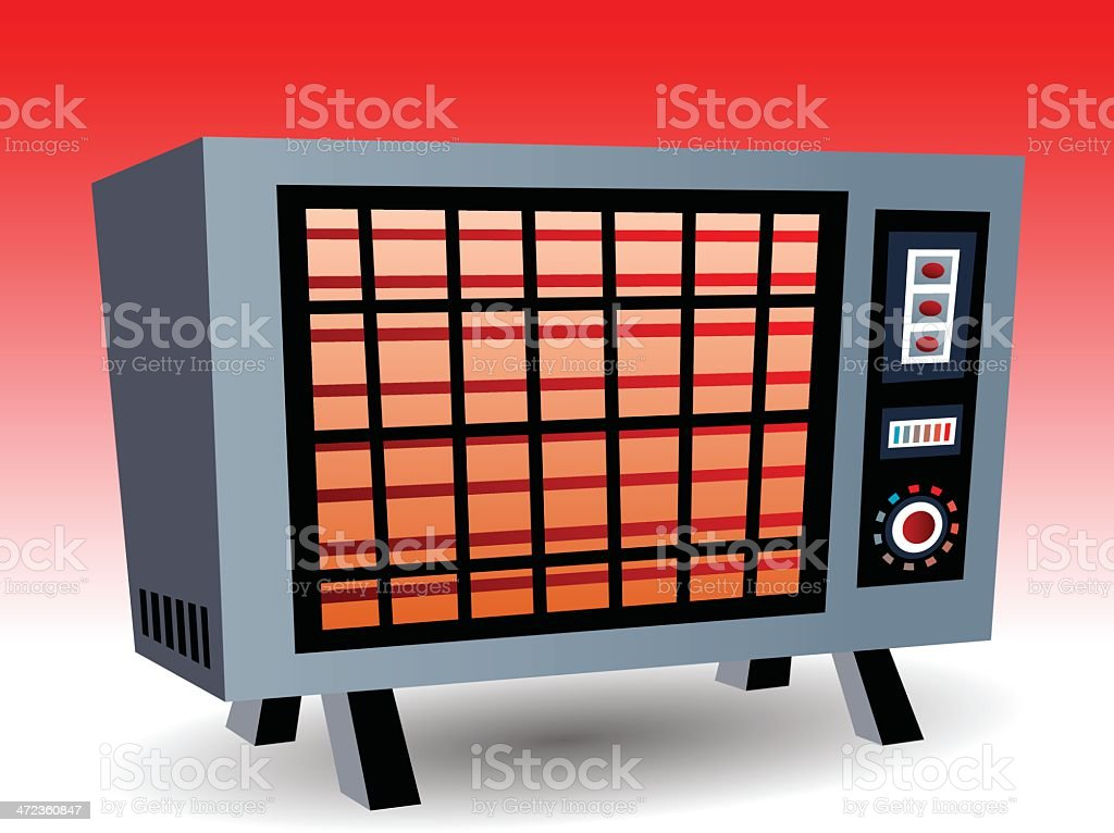 Heater royalty-free heater stock vector art & more images of appliance