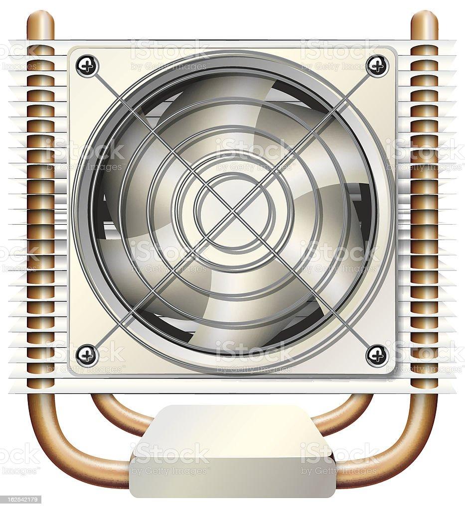 heatsink vector royalty-free stock vector art