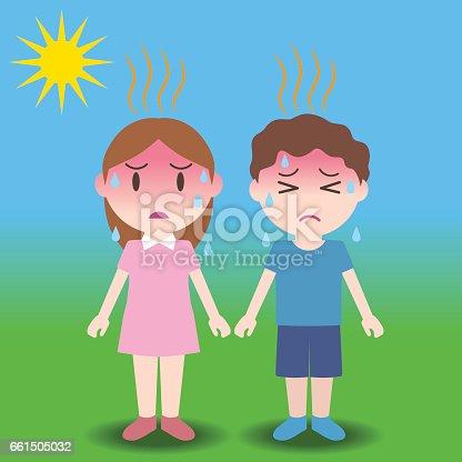 istock heatstroke of children, image illustration 661505032