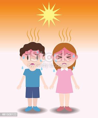 istock heatstroke of children, image illustration 661505122
