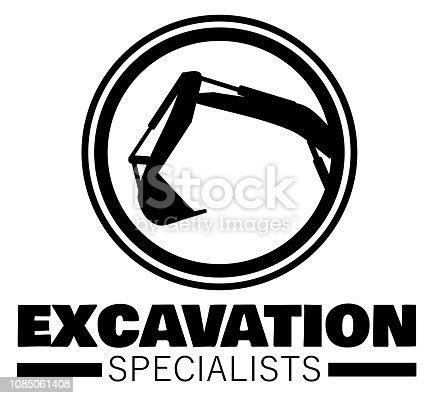 Industrial excavation heavy equipment