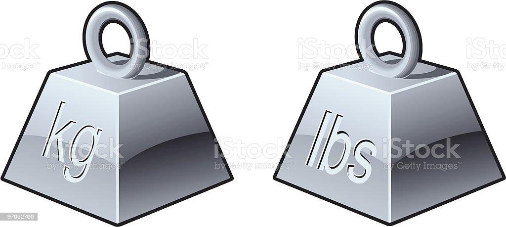 Heavy icons vector art illustration