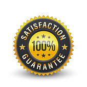100% SATISFACTION GUARANTEE badge will help the customer to understand that this product is well made and it will definitely meet their high expectation of usage.