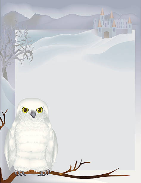 Royalty Free Snowy Owl Clip Art, Vector Images ...