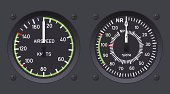 Helicopter airspeed indicators