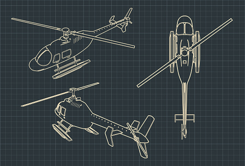 Helicopter blueprints