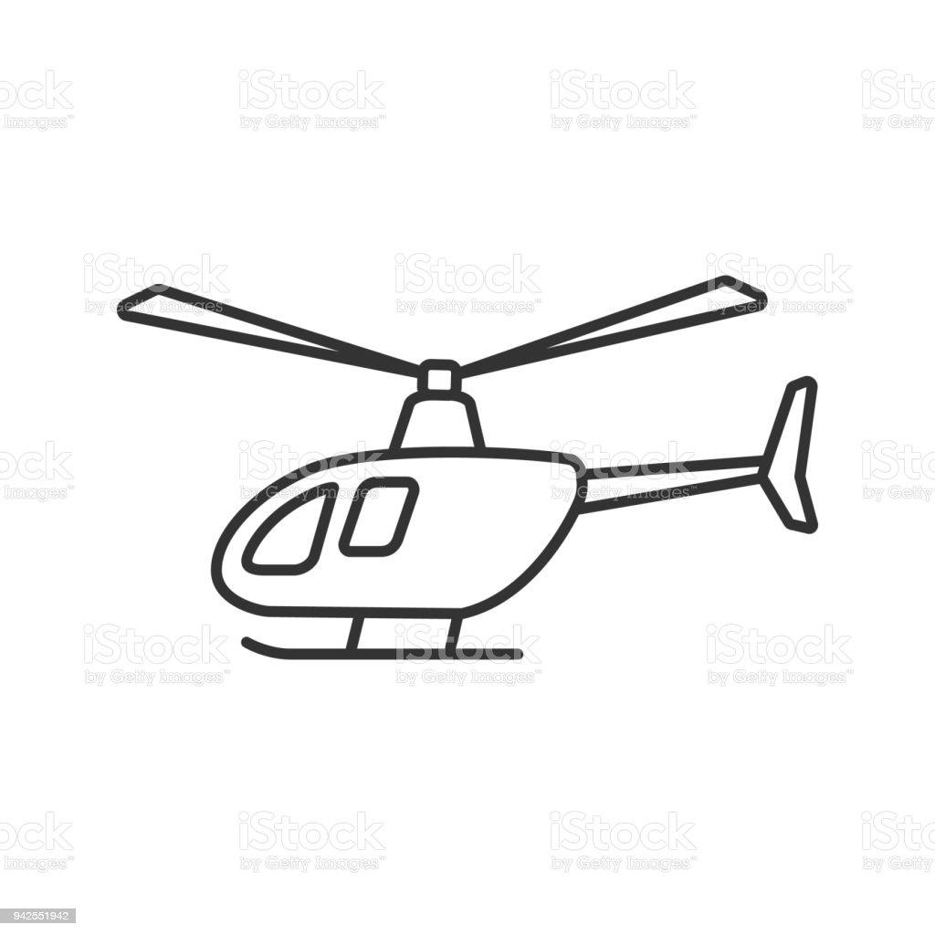 Ilustración de Icono De Helicóptero y más banco de imágenes de ...