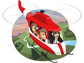 Helicopter Tour Landmark Air Travel