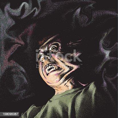istock Hellish Ghoul 158095087