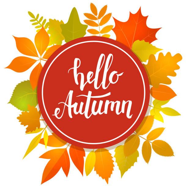 Hello Autumn Illustrations, Royalty-Free Vector Graphics ...