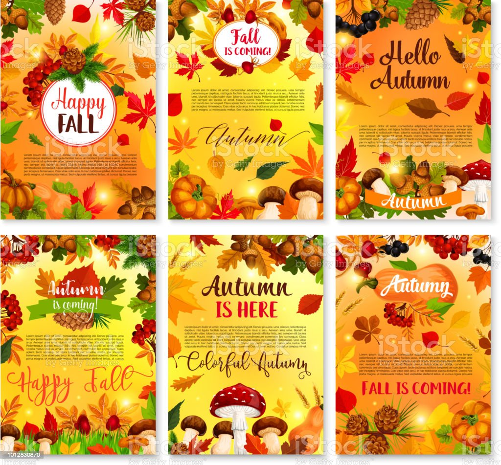 Hello autumn seasonal vector greeting cards stock vector art more hello autumn seasonal vector greeting cards royalty free hello autumn seasonal vector greeting cards stock m4hsunfo