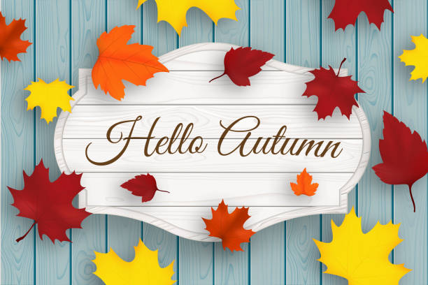 Best Welcome Fall Illustrations, Royalty-Free Vector ...